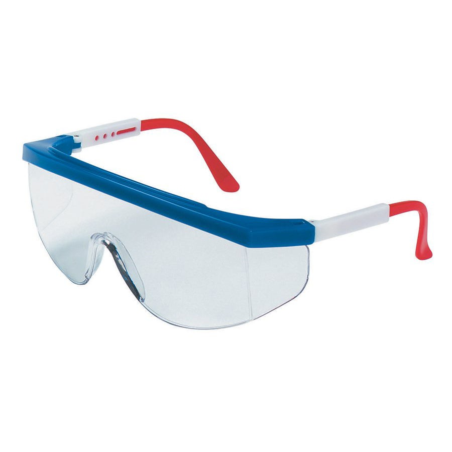 Crews Tomahawk Clear-Lens Polycarbonate Safety Glasses
