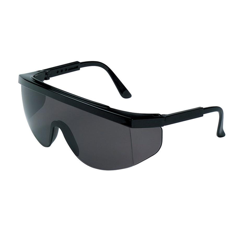 Crews Tomahawk Grey-Lens Safety Glasses