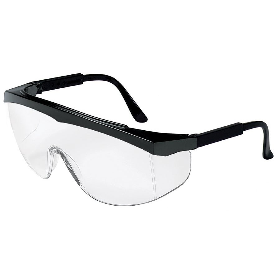 Crews Stratos Clear-Lens Safety Glasses