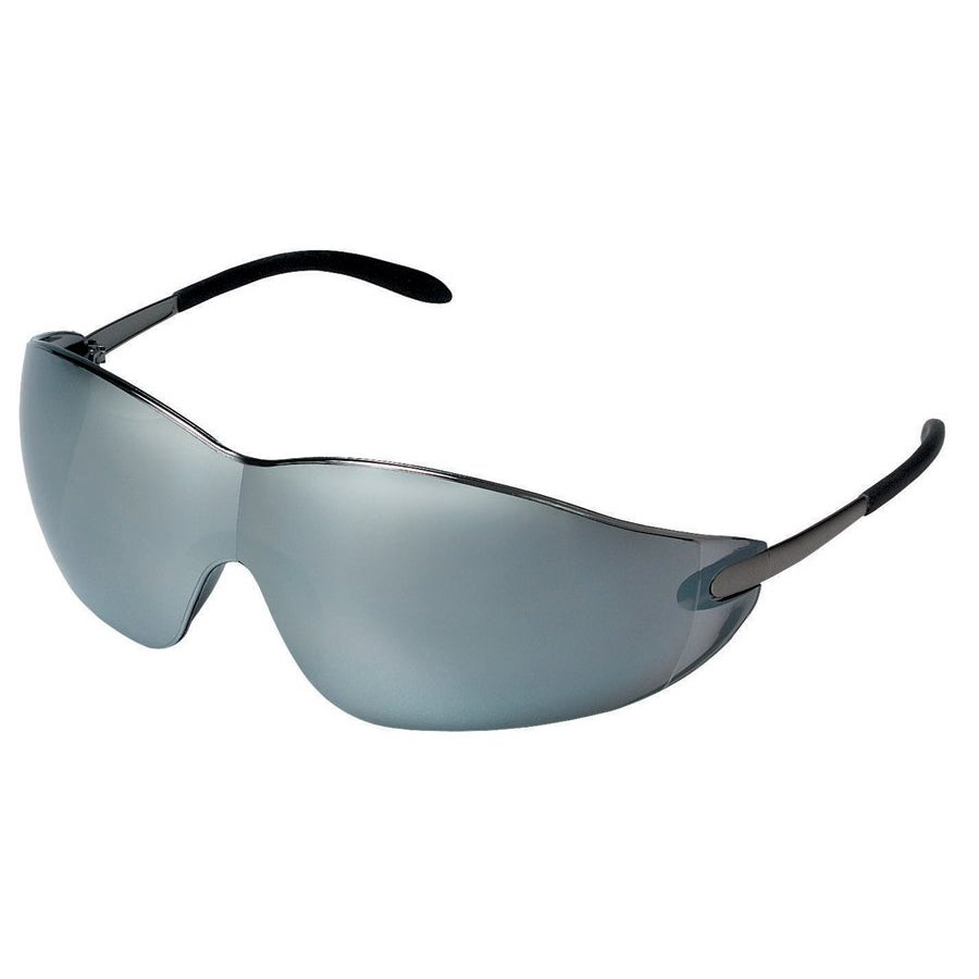 Crews Blackjack Mirror-Lens Safety Glasses