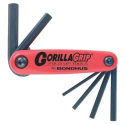 Bondhus 'Gorilla Grip' 1.5mm-6mm Foldup 7-Tool Set