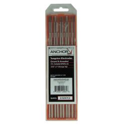 Anchor 1/16-Inch 2-Percent Ceria Tungsten Electrodes (10-Pack)