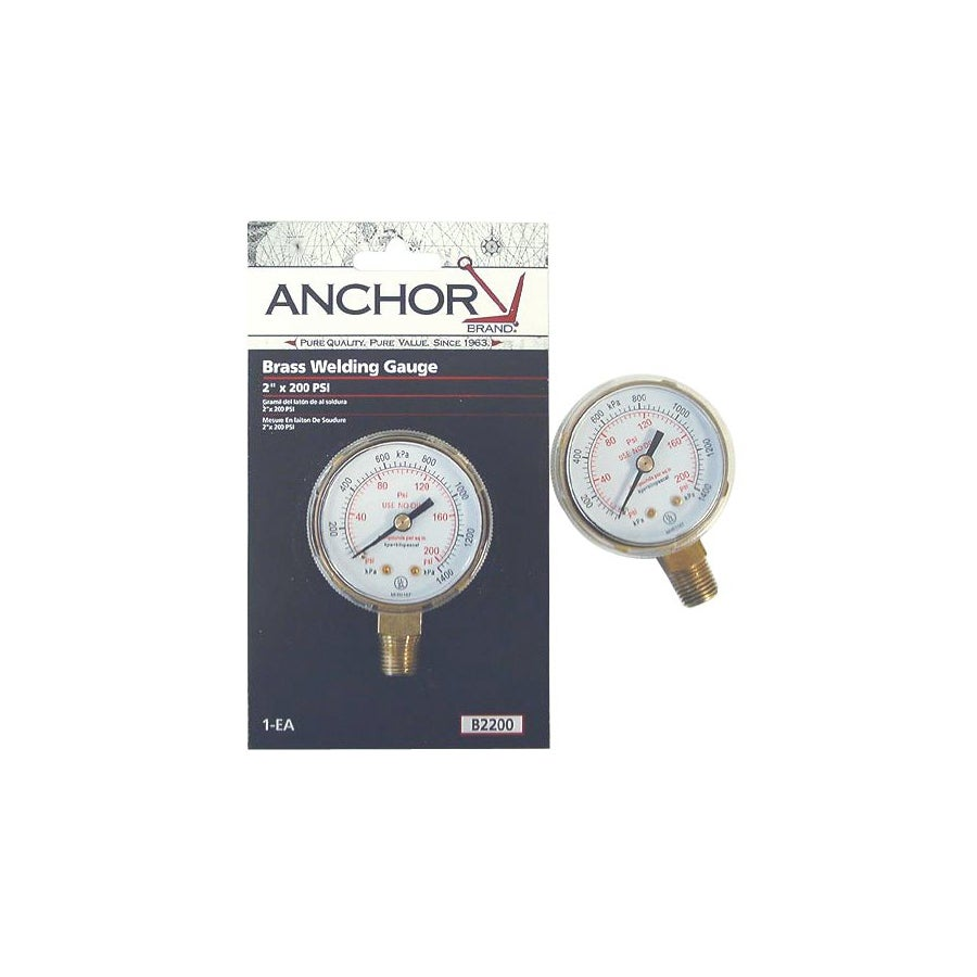 Anchor Brass Replacement Gauges