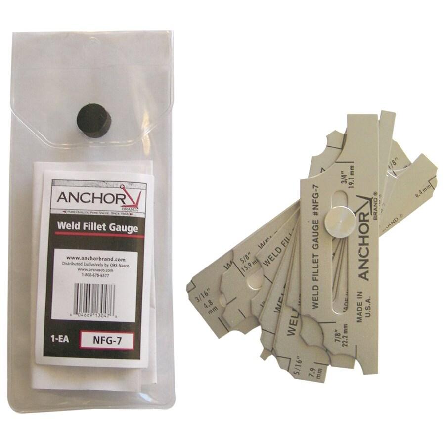 Anchor Brand Weld Fillet Gauges