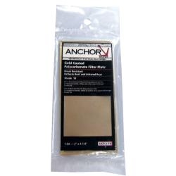 Anchor 4.5-inch x 5.25-inch Gold Coated Polycarbonate Filter Plate