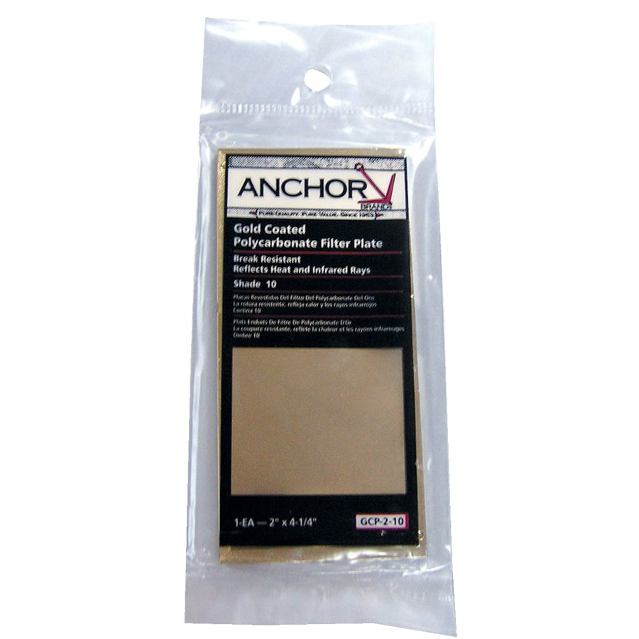 Anchor 2-inch x 4.25-inch Gold Coated Polycarbonate Filter Plates