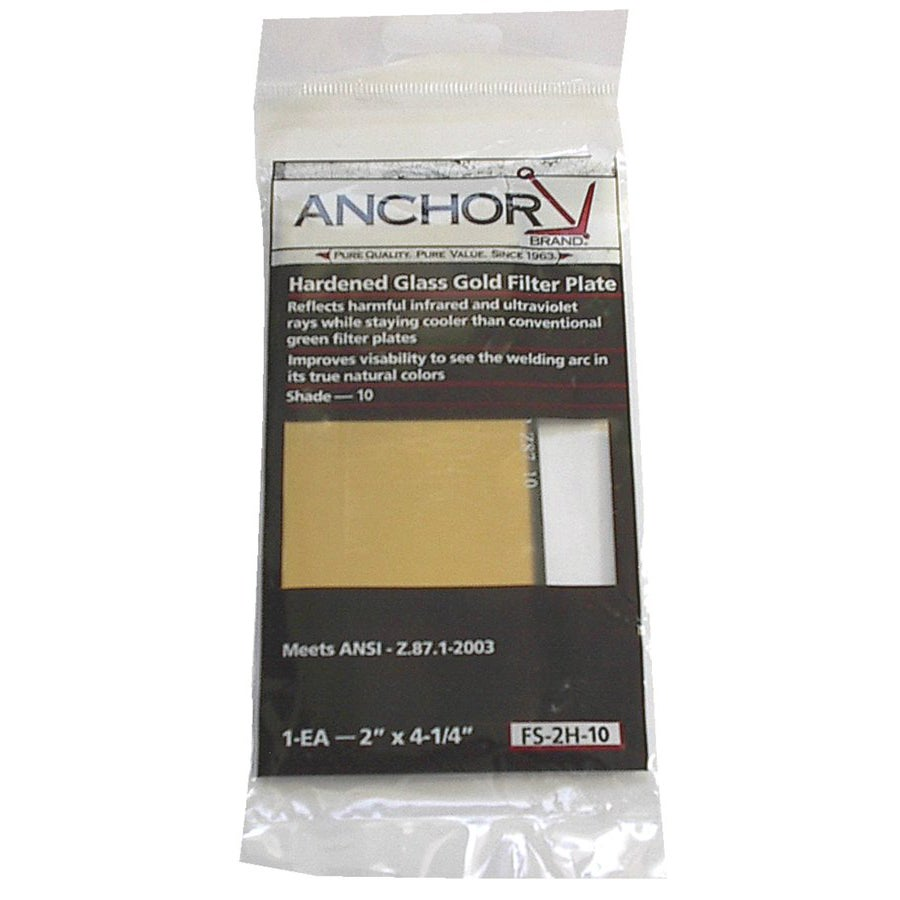 Anchor 2-Inch by 4.25-Inch Hardened Glass Gold Filter Plate Contrast 10