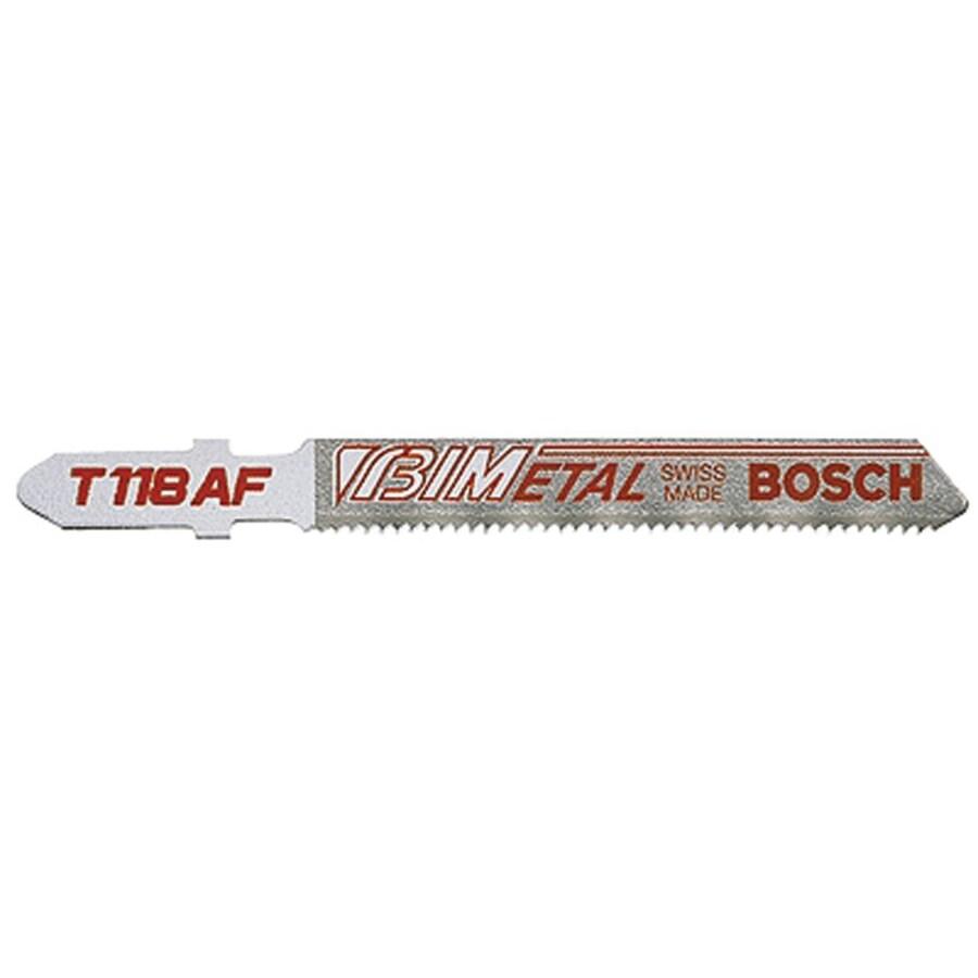 Bosch 3-inch 24-Teeth-Per-Inch Jigsaw Blades