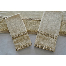 Sherry Kline Natural Cheetah 3-piece Decorative Towels