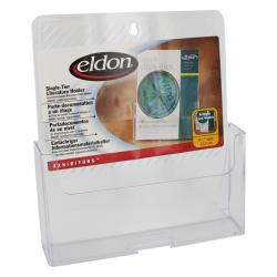 Eldon Exhibitors Single-tier Clear Literature Holders (Set of 4)