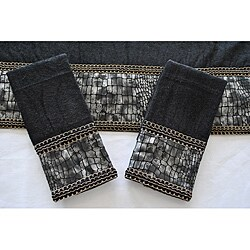 Black Bath Towels Overstock Shopping The Best Prices Online