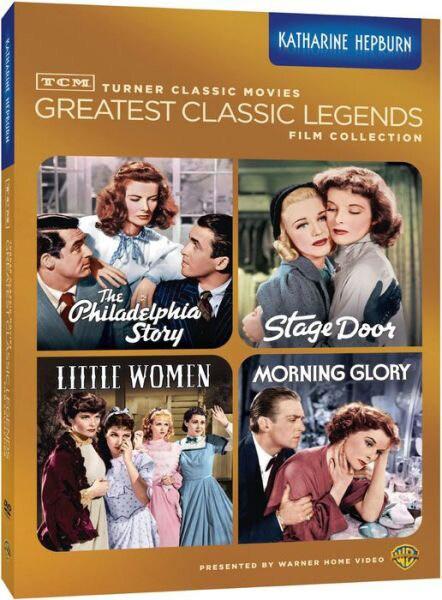TCM Greatest Classic Films: Legends - Katharine Hepburn (DVD)