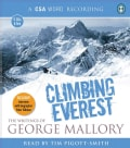 Climbing Everest: The Writings of George Mallory (CD-Audio)