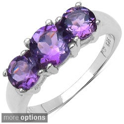 Malaika Sterling Silver Gemstone Fashion Ring