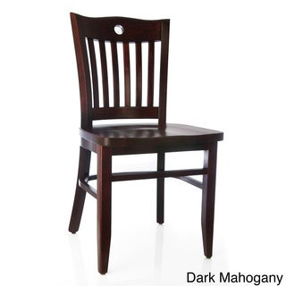 Pecan Side Chairs (Set of 2)