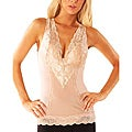 Magic Curves Women's Nude Lace Trimmed Shaping Camisole
