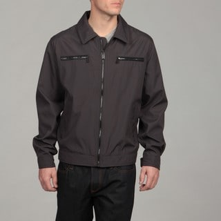 MICHAEL Michael Kors Men's Grey Zip-front Jacket