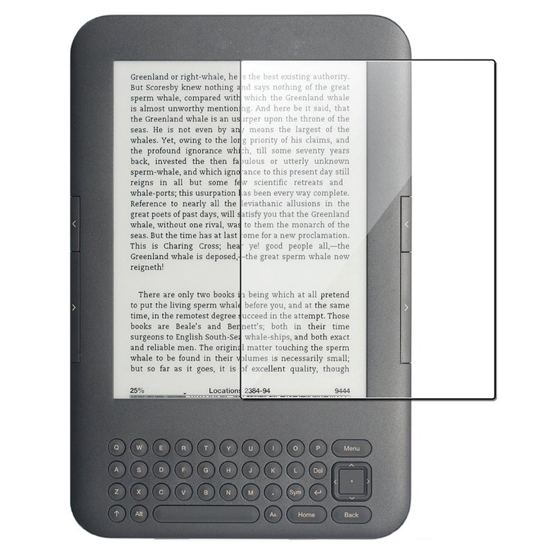 Anti-Glare Screen Protector for Amazon Kindle 3