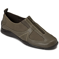 A2 by Aerosoles Women's 'Volar System' Dark Green Combo Slip-ons