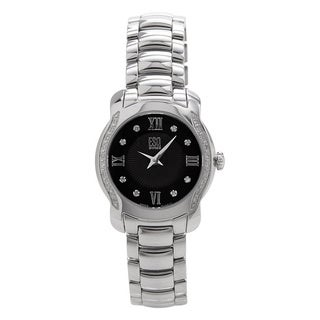 ESQ by Movado Women's Verona Black Diamond Accent Watch