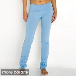 American Apparel Women's Cotton Spandex Jersey Yoga Pants