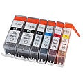 Sophia Global PGI-220/CLI-221 Ink Cartridges (Pack of 6) (Remanufactured)