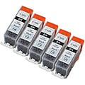 Sophia Global PGI-220 Black Ink Cartridges (Pack of 5) (Remanufactured)