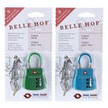 Belle Hop TSA 3-Dial Purse Cable Lock (Set of 2)