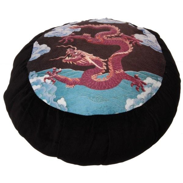DreamTime Dragon Sublimation Perfect Balance Zafu Cushion