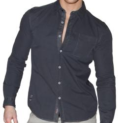 191 Unlimited Men's Button-front Slim Fit Shirt
