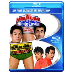 Harold & Kumar Go To White Castle/Harold & Kumar Escape From Guantanamo Bay (Blu-ray Disc)