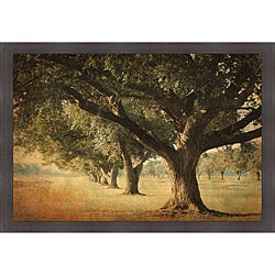 William Guion 'Island Oak' Framed Print Art