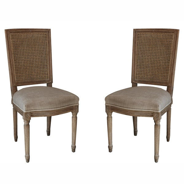 Best Interior Ideas kingofficeus : nuLOOM Casual Living Weathered Vintage French Cane Back Linen Dining Chairs Set of 2 0e854760 b8a6 4813 952c 259a241dab23600 from kingoffice.us size 600 x 600 jpeg 42kB