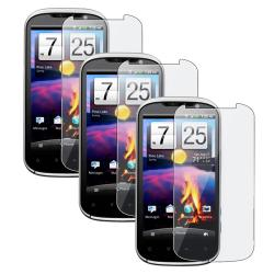 Cell Phone LCD Screen Protector for HTC Amaze 4G (Pack of Three)