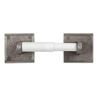 Handcrafted Hammered Copper Toilet Tissue Holder