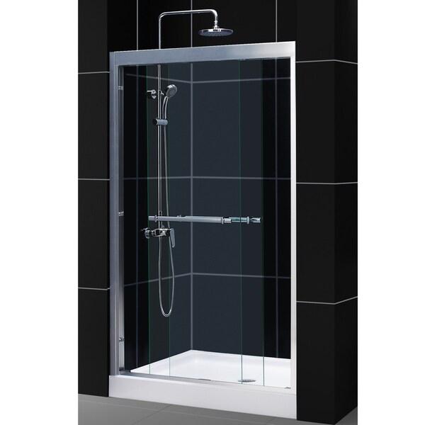 DreamLine Duet 44-48x72-inch Frameless Bypass Sliding Shower Door