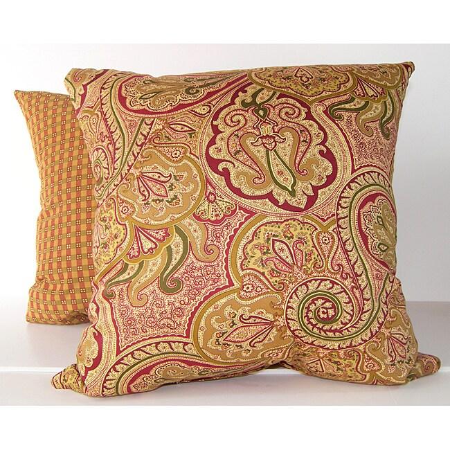 RLF Home Paddock Shawl Decorative Pillows (Set of 2)