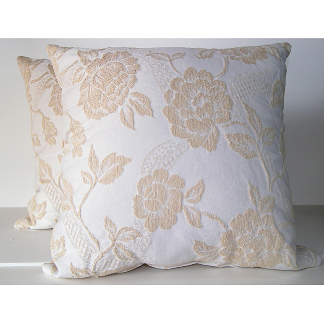 RLF Home Brocade Decorative Pillows (Set of 2)