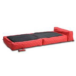 Austin Red Bean Bag Chair Bed Overstock Shopping Big