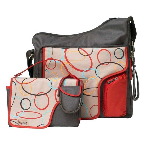 jj cole system 180 messenger diaper bag in cocoa oval 14014999 shopping big. Black Bedroom Furniture Sets. Home Design Ideas