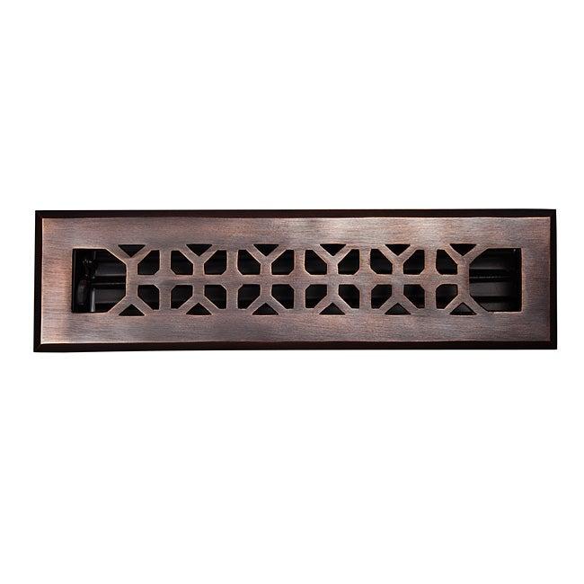 Copper factory solid copper 2 1 4 inch x 12 inch floor for 10 x 12 floor grate