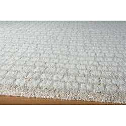 Quarry Beige Hand-Tufted Wool Rug (5' x 8')