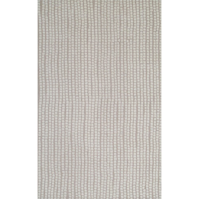 Quarry Beige Hand-Tufted Wool Rug (8' x 10')