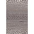 Hand-tufted Metropolitan Stones Silver Wool Rug (5' x 8')