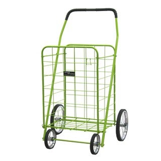 Narita Trading Company Green Jumbo Shopping Cart