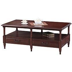 Cherry Six Leg Coffee Table