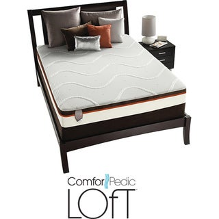 ComforPedic Loft Groveville Plush Queen-size Mattress Set
