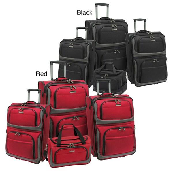 Traveler's Choice 'Rugged Supreme' 4-piece Expandable Luggage Set