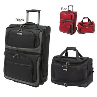 Traveler's Choice 'Rugged Supreme' 2-Piece Carry-On Luggage Set