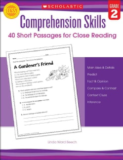 40 Short Passages for Close Reading, Grade 2 (Paperback)